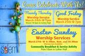 Celebrate Holy Week
