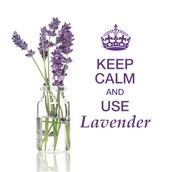 KEEP CALM and USE Lavender!