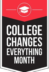 October is College Changes Everything Month