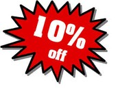 10% OFF THE ENTIRE STORE SATURDAY MAY 16TH!!!