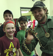 Meeting Native Snakes