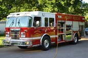 Fire Department Heavy Rescue Vehicle