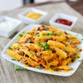 Bacon Cheddar Fries