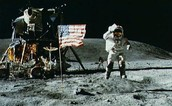 First Man on the Moon - Neil Armstrong (along with Buzz Aldrin)