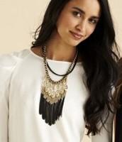 Lilith Fringe necklace