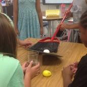 Egg Drop in Fifth Grade!
