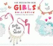 Little girls love bling too!!