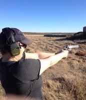 Ok, I do like shooting Ryan's cool revolver!