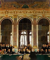 רקע כללי על חוזה ורסאי