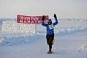 Finishing in the Arctic Circle