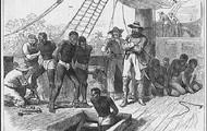African Slave Boat