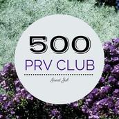 $500+ PRV