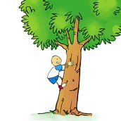 No me gustaba trepar a los árboles porque no era aventurero