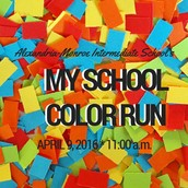 Alexandria's My School Color Run