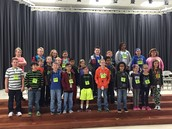 2015-2016 JCT Spelling Bee Contestants