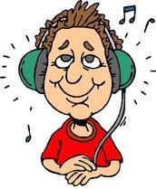 Juan escuchó musica