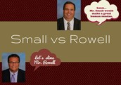 Small vs Rowell Coin Challenge