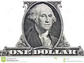 The one dollar bill