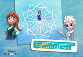 Draw Snowflakes with Elsa and Anna!