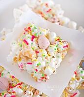 Easy Bunny Popcorn Bars