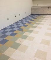 Classroom Floor Tile