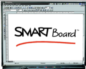 The SMART Board was used.
