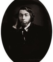 The photo above, taken from Wikipedia, is Walt Whitman age 28