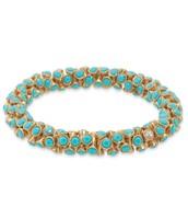 Vintage Twist Bracelet in turquoise