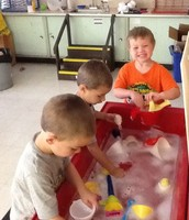 Preschool Fun at the Water Table