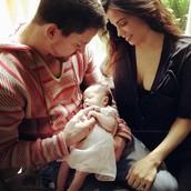 Channing, Jenna, and Everly Tatum