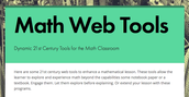 Collect Web Tools for Students