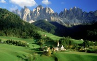 This is the landscape that has Italy