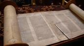 The Torah, the Jewish holy book