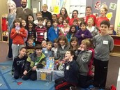 Chaverim Collects Food for Hungry & Gifts for Children