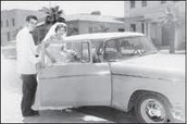 Rex and Rose Mary Walls on their wedding day
