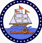There is no school on Monday, October 12 in observance of Columbus Day!