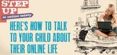Step Up- how to talk to your child
