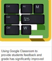 Google Classroom for Feedback