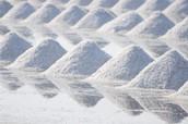 Chlorine in salt