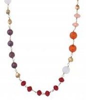 Aileen Necklace - Pink