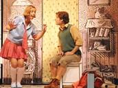 """קטע מיתוך המחזה """"פצפונת ואנטון"""""""