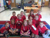 Mrs. Basta's Attendance Winners!