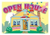 Open House on Saturday, May 21st