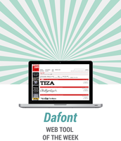 Webtool of the Week: Dafont