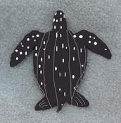 leatherback drawling