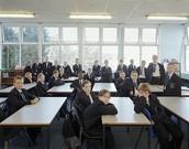 A school of england class