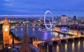 Cuando era joven visitaba London.