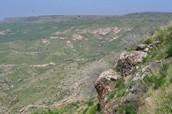 The major landforms of Israel