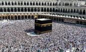 LA MECA: La mezquita sagrada.