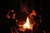 Join us for a campfire and sunset hike in West Rock Park!